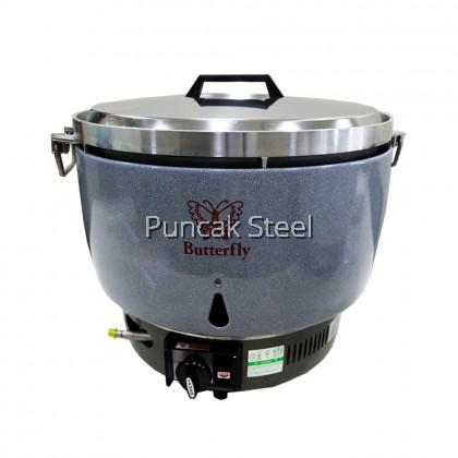 Rice Cooker (Gas) Capacity 14 Liter PL70 Periuk Nasi Elektrik Kapasiti Besar Untuk Kenduri Restoran Hotel Kedai Makan Catering