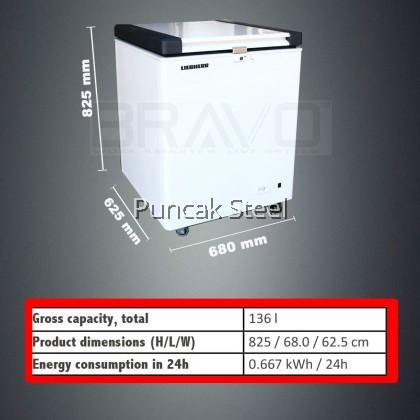 Chest Freezer Top Opening 136 Liter  EFL1505