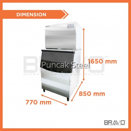 280KG Ice Maker Machine - Daily Production: 280KG