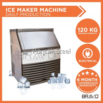 120KG Ice Maker Machine - Daily Production: 120KG