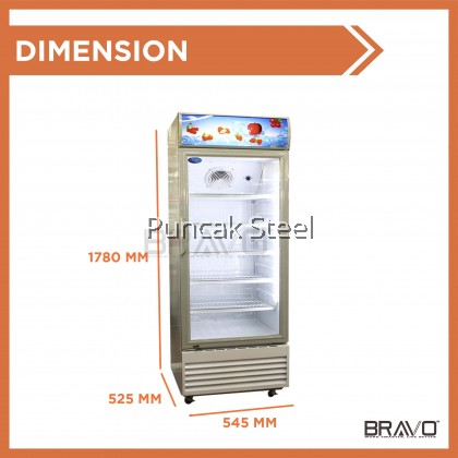 Snow 1 Door Display Chiller Capacity 220 Liter LG4-220